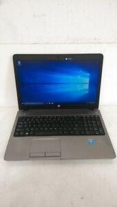 """HP ProBook 450 G1 15.6"""" Laptop Core i3-4000M 4GB Ram 250GB SSD Windows 10 Pro"""