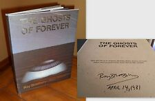 Signed/Dated First Edition ~ The Ghosts of Forever by Ray Bradbury, Aldo Sessa