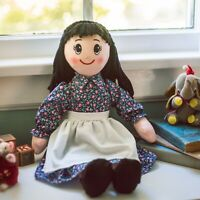 Little House 18 INCH CHARLOTTE RAG DOLL Can Wear American Girl Doll Clotes Too!