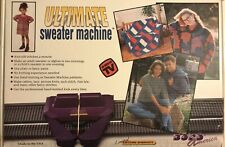 ULTIMATE SWEATER MACHINE Set Knitting Kit Bond America Afghan Maker