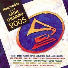 Various Artists : Latin Grammy Nominees 2005 CD