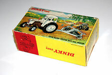 Dinky Toys Original David Brown Tractor With Harrow Disc Empty Gift Set Box 325