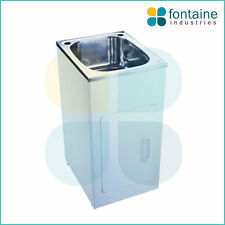 Crosby Laundry Trough Sink Cabinet 35L Stainless Steel NEW 455