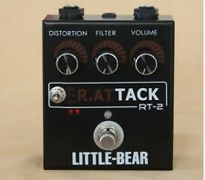 Little bear Guitar Bass TURBO Distortion Fuzz StompBox Pedal effect actupr