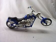 BRATZ  BLUE AND CHROME LOOK MOTORCYCLE TOY WITH MOVEABLE REST STAND