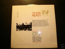 TALKING HEADS :Selections From Stop Making Sense- PROMO