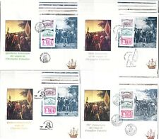 C. COLOMBO, 500° Scoperta America/500th Discovery of America 24 FDC covers -LB23