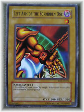 LEFT ARM OF THE FORBIDDEN ONE DB1-EN138 yugioh short print common card