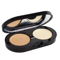 Bobbi Brown Creamy Kit in Sand Concealer and Pale Yellow pressed powder 0.11oz