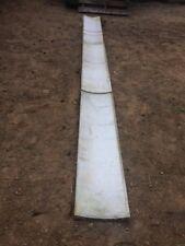 caniveaux en marbre blanc de 131/31/5 cm en très bon état