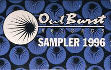 OUTBURST SAMPLER 1996 - RARE SEALED R&B/HIP HOP CASSETTE - BG - Domino - Code 3