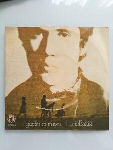 LUCIO BATTISTI - I GIARDINI DI MARZO / COMUNQUE BELLA 45 giri 7'' 1972