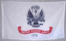 3X5 U.S. Army Emblem Nylon Flag 3'x5' Banner grommets ( Made in Usa )