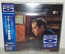 BLU-SPEC CD BRAHMS - GLENN GOULD - INTERMEZZI FOR PIANO - JAPAN SICC 20050
