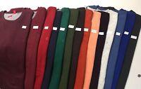 IZOD Men's Long Sleeve Solid Sueded Fleece Sweatshirts Tops Regular-Big&Tall NWT