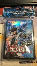 YuGiOh Kaibas Majestic Collection Card Sleeves,  50 Kaiba Kartenhüllen