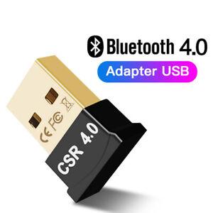Bluetooth 4.0 USB 2.0 CSR 4.0 Dongle Adapter for PC LAPTOP WIN XP VISTA 7 8 10_
