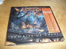ACCEPT -THE RISE OF CHAOS- VERY HARD TO FIND RARE 1ST PRESS LTD MINI LP REPLICA