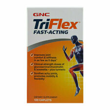 GNC Triflex Fast-Acting 120 Caplets improve joint comfort and stiffness