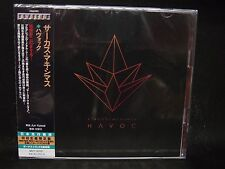 CIRCUS MAXIMUS Havoc + 2 JAPAN 2CD The Magnificent Kamelot Carnivora Black Comed