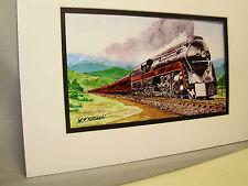 Norfolk & Western RR The Powhantan Arrow Artist Railroad Archives bt