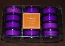 Oriental Amber Tealight Candles /Chesapeake Bay Candle