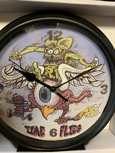 RAT FINK CLOCK   FROM ED BIG DADDY ROTH.