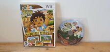 Nintendo Wii Go Diego Go! paquete gran dinosaurio de rescate y Safari Rescue