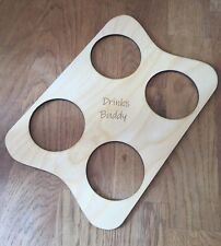 Tray, Beer Tray, Pint Drinks Holder, Festival Tray (Free Personalisation).