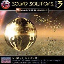 MasterBits / Sound Solutions 3 / DANCE DELIGHT / Sampling-CD / WAV