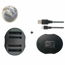 Battery DUAL USB Charegr for SONY NP-BN1 NP-BN BC-CSN BC-CSNB BC-TRN BC-TRN2