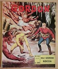 GORDON fratelli spada N.23 GLI UOMINI ROCCIA flash f.lli austin briggs 1965