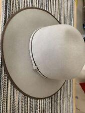 RARE Vintage BAILEY WESTERN CLAYTON HAT 71/4 PECAN Frontier Collection 58