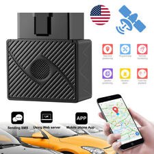 US  OBD 2 GPS Tracker GSM SIM Realtime GPRS Vehicle Tracking Car Security Device