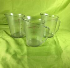 Cambro Measuring Cups Lot of 3 Commercial Measuring Cups 32oz.