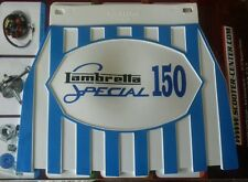 Lambretta 150 special Blue Stripped cuppini Mudflap Hard Rubber Type.