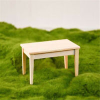 1:12 Dollhouse Miniature Furniture Wooden Rectangle Table For Living Room ♫