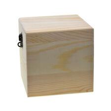 Wooden boxes with lid, Plain wood box, Large Storage box, Jewelry Box, Craft