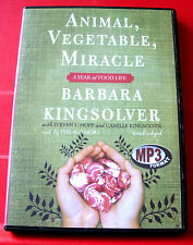 Barbara Kingsolver Reads Animal Vegetable Miracle MP3-CD UNAB.Audio Organic Food