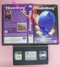 VHS film HINDENBURGH 1987 George C.Scott Robert Wise CIC UVT 60035 (F20)no dvd