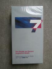 BMW 7er E38 Limousine VHS Videocassette NEU MID MFL Bedienung 1994 Rarität