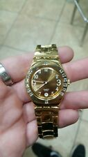 Swatch Gold Plated Crystal Watch