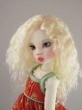 Monique ELLOWYNE-ROSE White Blonde color Wig Size 7-8 MSD BJD shown Miki Wiggs