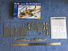 Revell 1:72 Kamow Ka-50 Hokum helicopter kit #04406