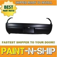NEW 2008 2009 2010 2011 DODGE CHALLENGER Rear bumper w/o Snsrs Painted CH1100934