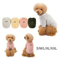 Autumn Winter Dog Clothes Warm Fleece Pet Clothes Coat For Small Medium Dogs/*`