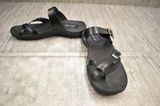 **SKECHERS Reggae - Caribbean 41007 Sandal, Women's Size 10, Black