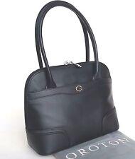 Oroton Black Melanie Slim Clutch Leather RRP