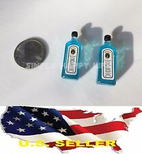 1/6 Scale BOMBAY SAPPHIRE Blue wine alcohol for hot toys Phicen stage property