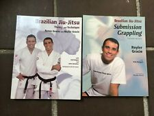 LOT 2 Brazilian Jiu Jitsu BJJ Books Theory Practice Submission Grappling Gracie